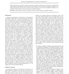 pdf continuous flow chemistry in chemical education [ 850 x 1202 Pixel ]