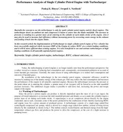 pdf turbocharged single cylinder si engine [ 850 x 1100 Pixel ]