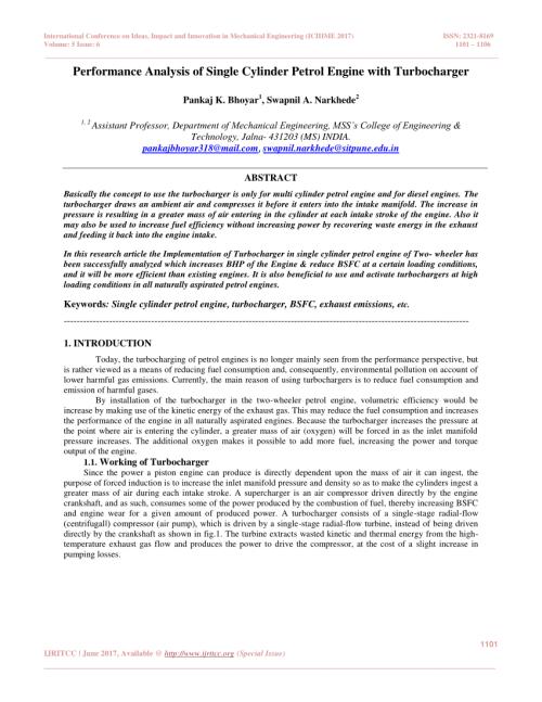 small resolution of  pdf turbocharged single cylinder si engine