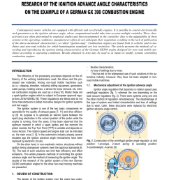 pdf research of the ignition advance angle characteristics on the example of a german gx 390 combustion engine  [ 850 x 1202 Pixel ]