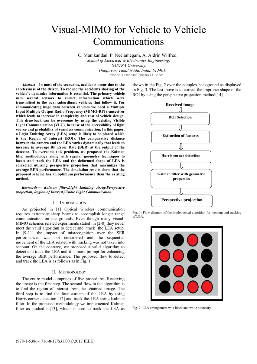 hight resolution of visible light communication system using led traffic light and download scientific diagram