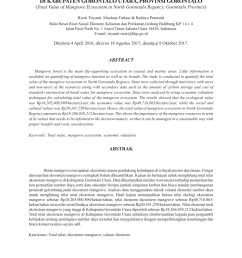 pdf total nilai ekosistem mangrove di kabupaten gorontalo utara provinsi gorontalo [ 850 x 1202 Pixel ]