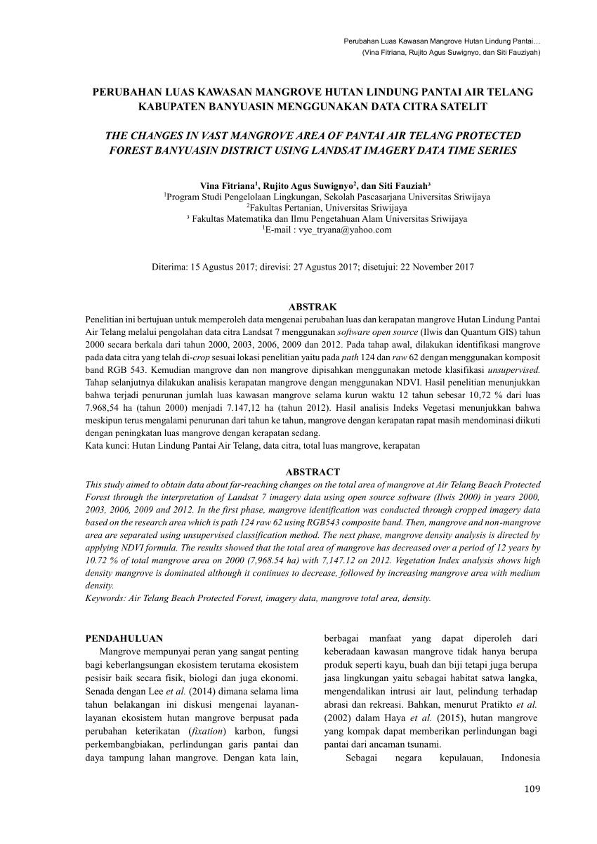 medium resolution of  pdf analisis struktur ekosistem mangrove di desa kukupang kecamatan kepulauan joronga kabupaten halmahera selatan maluku utara