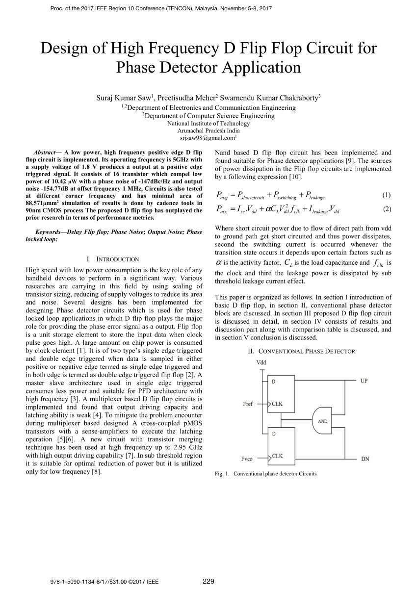 medium resolution of  pdf design of high frequency d flip flop circuit for phase detector application