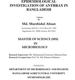 pdf epidemiological investigation of anthrax in bangladesh  [ 850 x 1202 Pixel ]