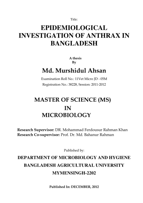 small resolution of  pdf epidemiological investigation of anthrax in bangladesh