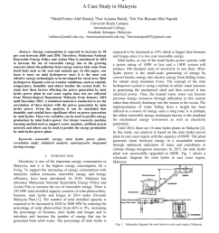 pdf factors affecting mini hydro power production efficiency a case study in malaysia [ 850 x 1203 Pixel ]