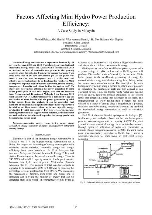 small resolution of  pdf factors affecting mini hydro power production efficiency a case study in malaysia