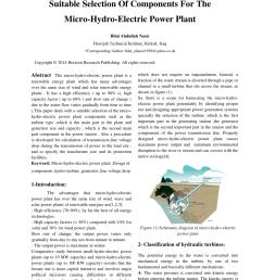 block diagram of hydro power plant 6 block diagram of hydro power download scientific diagram [ 850 x 1202 Pixel ]