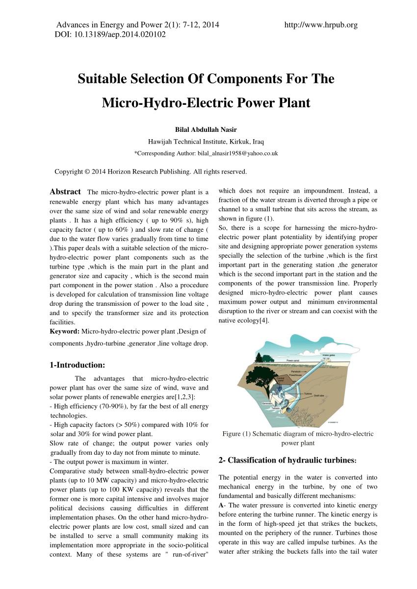 medium resolution of block diagram of hydro power plant 6 block diagram of hydro power download scientific diagram