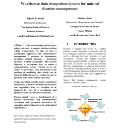 pdf disaster management in malaysia an application framework of integrated routing application for emergency response management system [ 850 x 1100 Pixel ]