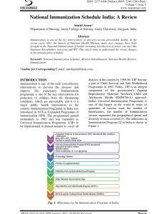 Pdf national immunization schedule india  review also rh researchgate
