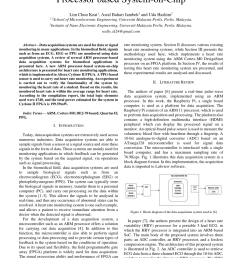 pdf heart rate monitoring using arm soft core processor based system on chip [ 850 x 1202 Pixel ]