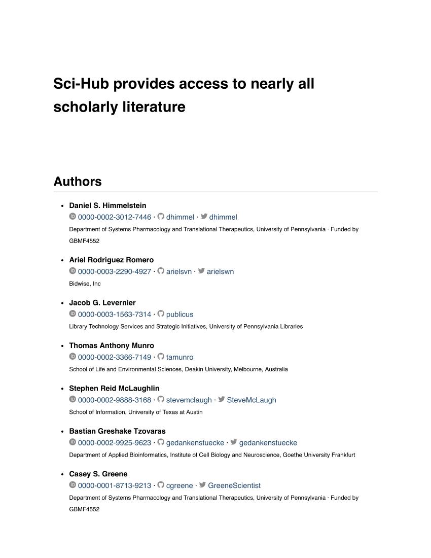 Download Jurnal Gratis Sci Hub : download, jurnal, gratis, Sci-Hub, Provides, Access, Nearly, Scholarly, Literature