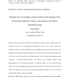 pdf mathematics teaching and learning as a mediating process the case of tape diagrams [ 850 x 1205 Pixel ]