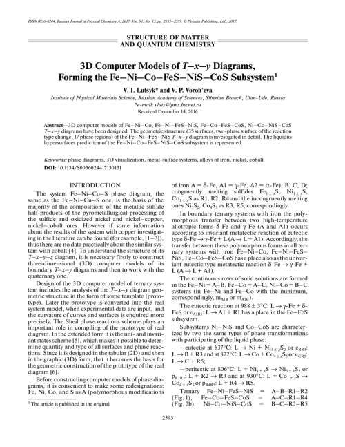 small resolution of  pdf 3d computer models of t x y diagrams forming the fe ni co fes nis cos subsystem