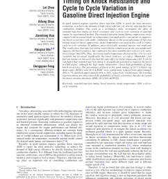 pdf research and application of over expansion cycle atkinson and miller engines a review [ 850 x 1124 Pixel ]