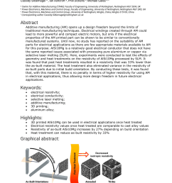 pdf electrical resistivity of additively manufactured alsi10mg for use in electric motors [ 850 x 1202 Pixel ]