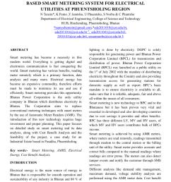 pdf automatic energy meter reading using smart energy meter [ 850 x 1100 Pixel ]
