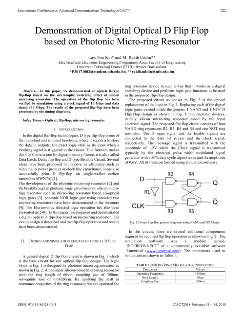 small resolution of  pdf demonstration of digital optical d flip flop based on photonic micro ring resonator