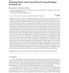 pdf behaviour of water in jet fuel a literature review [ 850 x 1202 Pixel ]