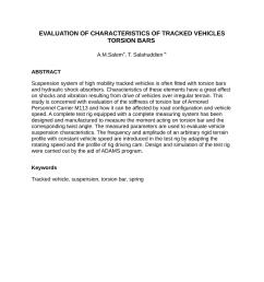 pdf evaluation of characteristics of tracked vehicles torsion bars [ 850 x 1203 Pixel ]