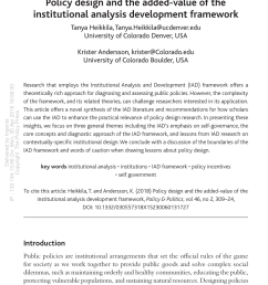 the institutional analysis and development iad framework download scientific diagram [ 850 x 1439 Pixel ]