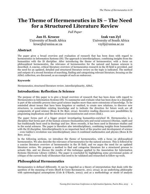 small resolution of a hermeneutic framework for the literature review process boell download scientific diagram