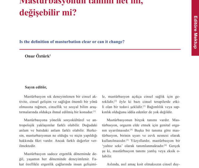 Pdf The Role Of Masturbation In Healthy Sexual Development Perceptions Of Young Adults