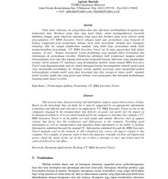 pdf perancangan perangkat lunak aplikasi pemesanan tiket secara online pada cv bma executive travel [ 850 x 1203 Pixel ]