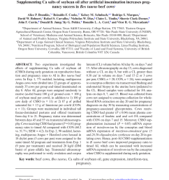 use of pregnancy specific proteins and progesterone assays to monitor pregnancy and determine the timing frequencies and sources of embryonic mortality in  [ 850 x 1136 Pixel ]