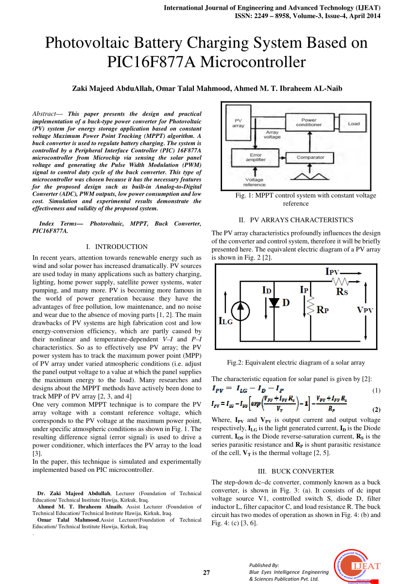 medium resolution of  pdf enhancing the design of battery charging controllers for photovoltaic systems