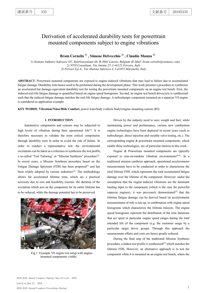 medium resolution of example v8 engine test setup with enginemounted components visible download scientific diagram