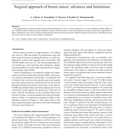 pdf recent advances in the surgical care of breast cancer patients [ 850 x 1153 Pixel ]