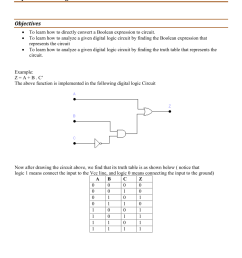 digital logic circuits analysis and converting boolean expressions to digital circuits [ 850 x 1202 Pixel ]