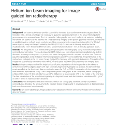 pdf proton radiography and tomography with application to proton therapy [ 850 x 1129 Pixel ]
