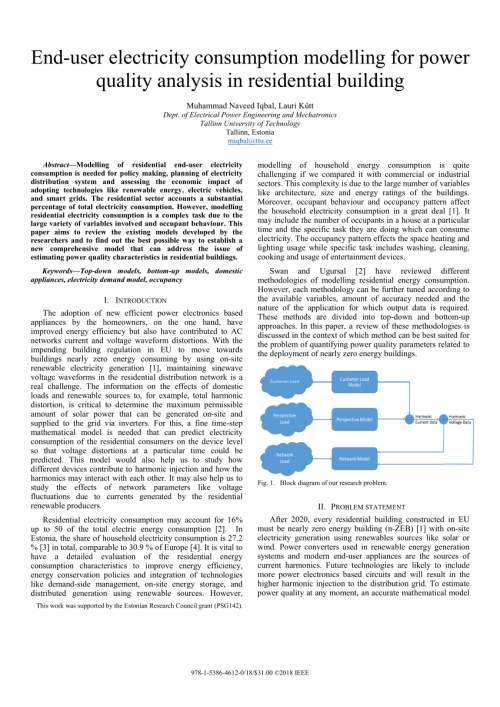 small resolution of the nature of domestic electricity loads and effects of time averaging on statistics and on site generation calculations request pdf