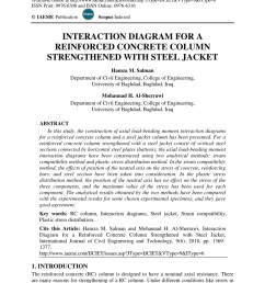 pdf interaction diagram for a reinforced concrete column strengthened with steel jacket [ 850 x 1202 Pixel ]