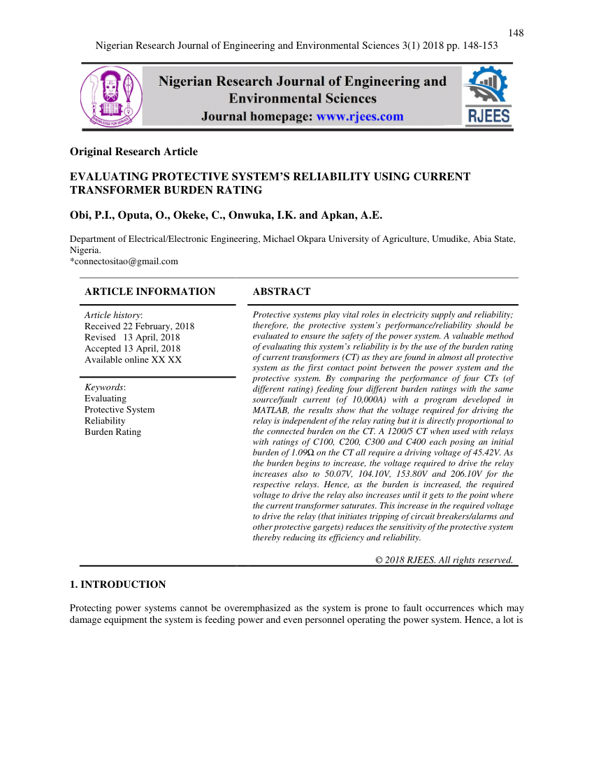 medium resolution of  pdf saturation of current transformers and its impact on digital overcurrent relays