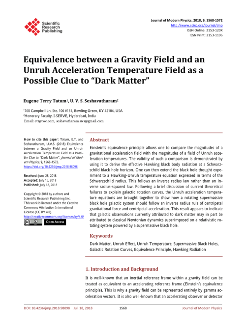 small resolution of  pdf clues to the fundamental nature of gravity dark energy and dark matter