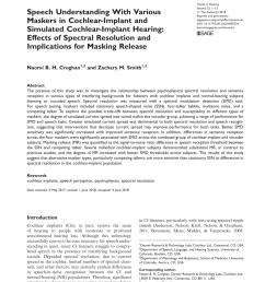 pdf clinical assessment of spectral modulation detection for adult cochlear implant recipients a non language based measure of performance outcomes [ 850 x 1100 Pixel ]