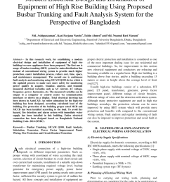 pdf modern electrical design and installation of equipment of high rise building using proposed busbar trunking and fault analysis system for the  [ 850 x 1100 Pixel ]