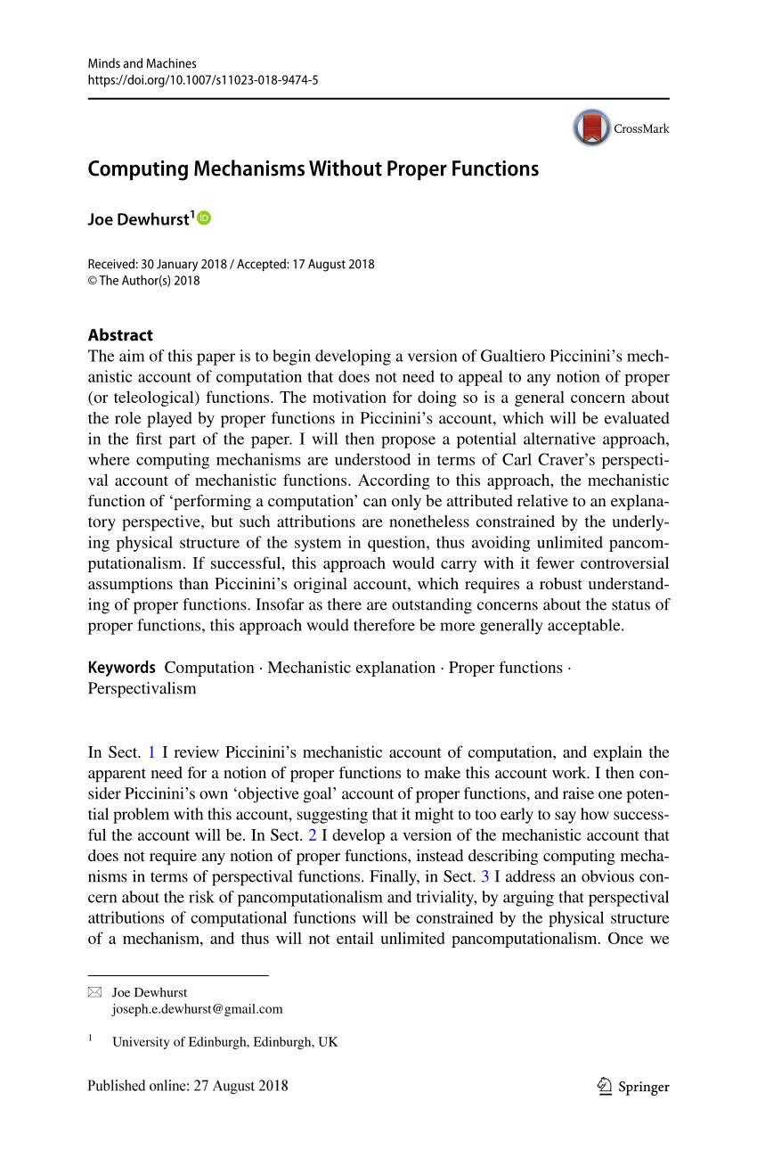 medium resolution of  pdf morphological computation nothing but physical computation