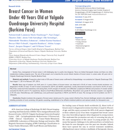 pdf recent advances in the surgical care of breast cancer patients [ 850 x 1202 Pixel ]
