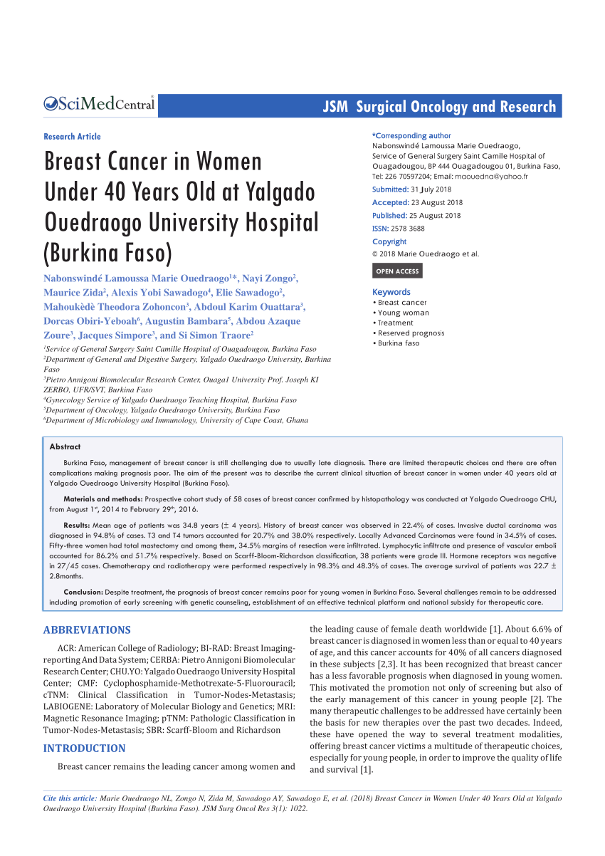 medium resolution of  pdf recent advances in the surgical care of breast cancer patients