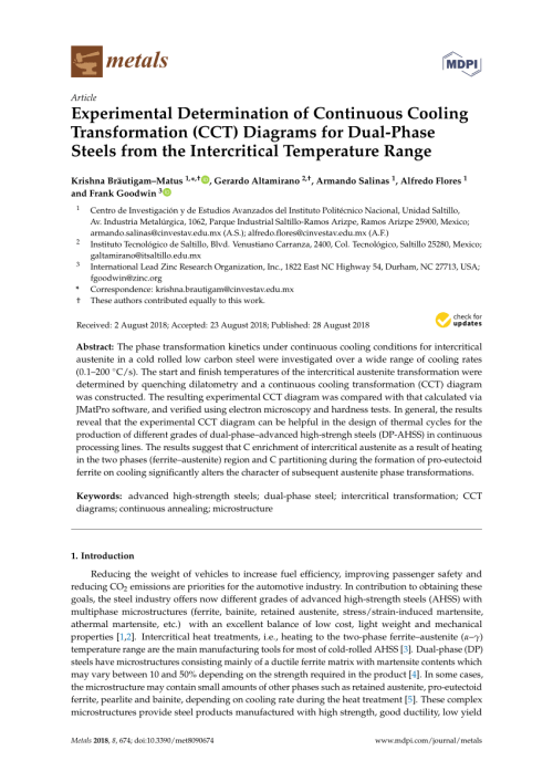 small resolution of the calculation of ttt and cct diagrams for general steels n saunders request pdf