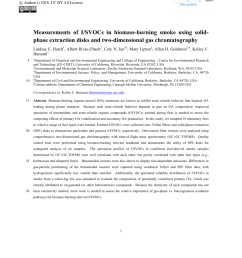 pdf speciated and total emission factors of particulate organics from burning western u s wildland fuels and their dependence on combustion efficiency [ 850 x 1122 Pixel ]