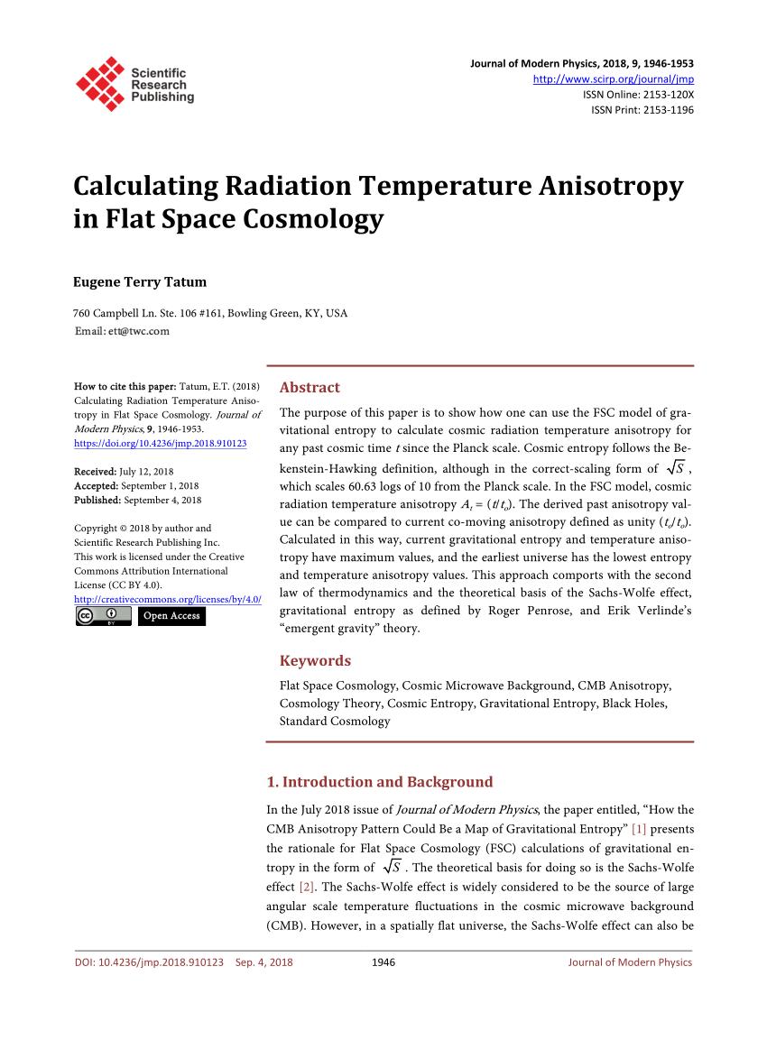 medium resolution of  pdf clues to the fundamental nature of gravity dark energy and dark matter