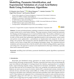 pdf modelling parameter identification and experimental validation of a lead acid battery bank using evolutionary algorithms [ 850 x 1202 Pixel ]