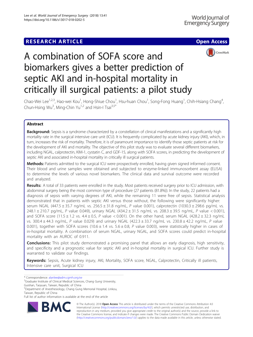 sofaore knoxville tn sofasofa grosvenor prognostic accuracy of the sofa score sirs criteria and qsofa for in hospital mortality among adults with suspected infection admitted to